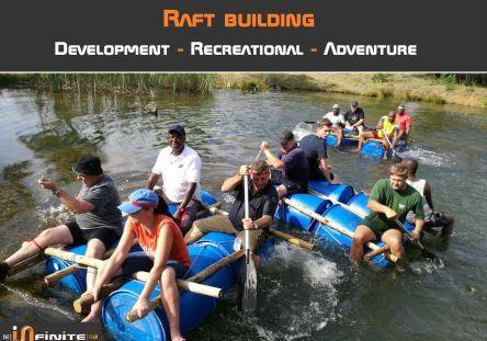 Picture15 Raft building Team buildig