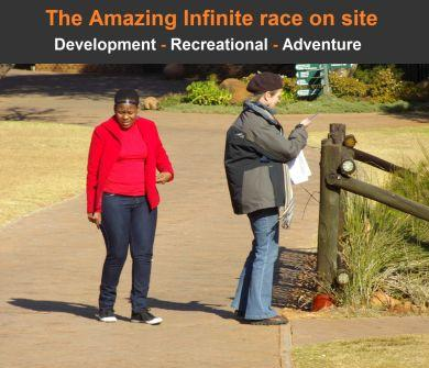 Picture5 The Amazing Infinite race on site Team buildig