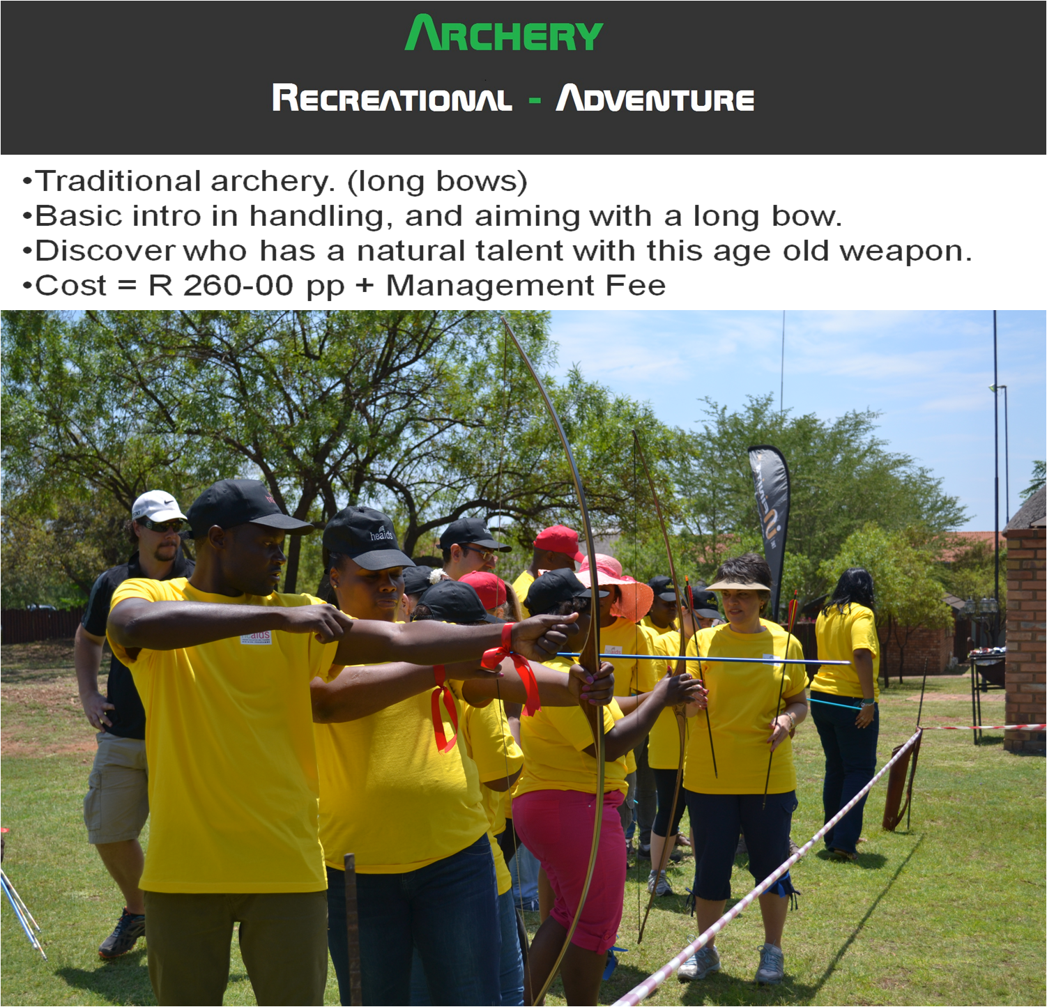 Archery in Pretoria