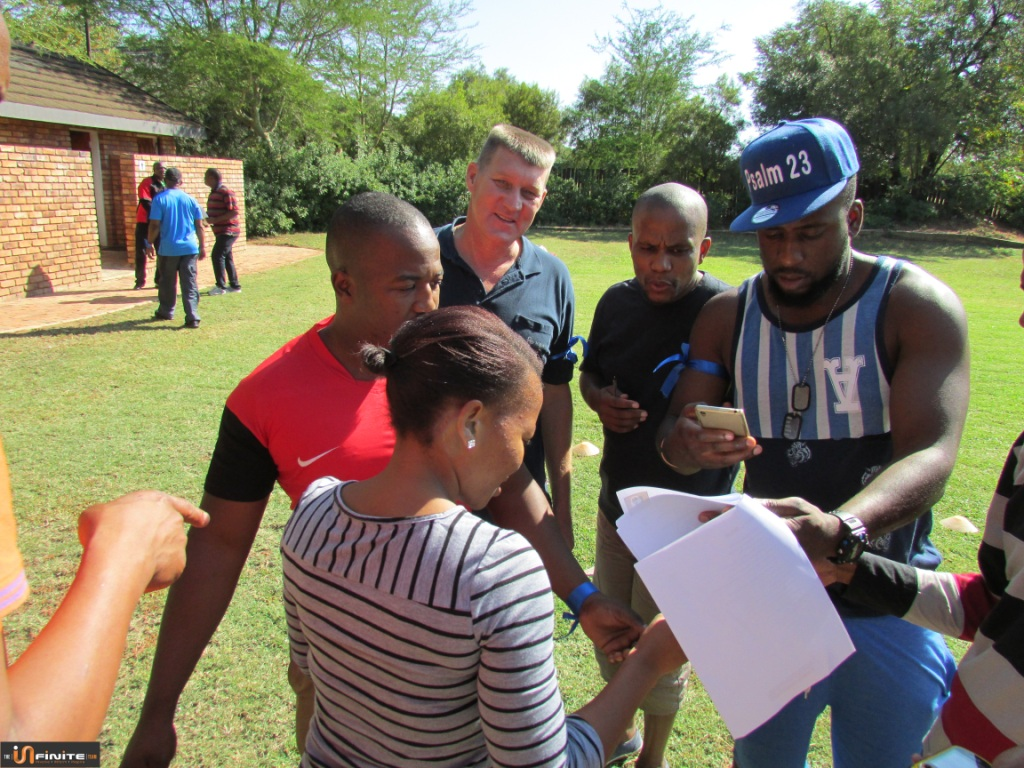 Team Building Pretoria at Faircity Roodevallei