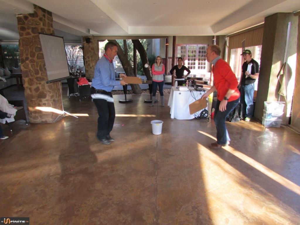 Team Building Pretoria at The Blades 21