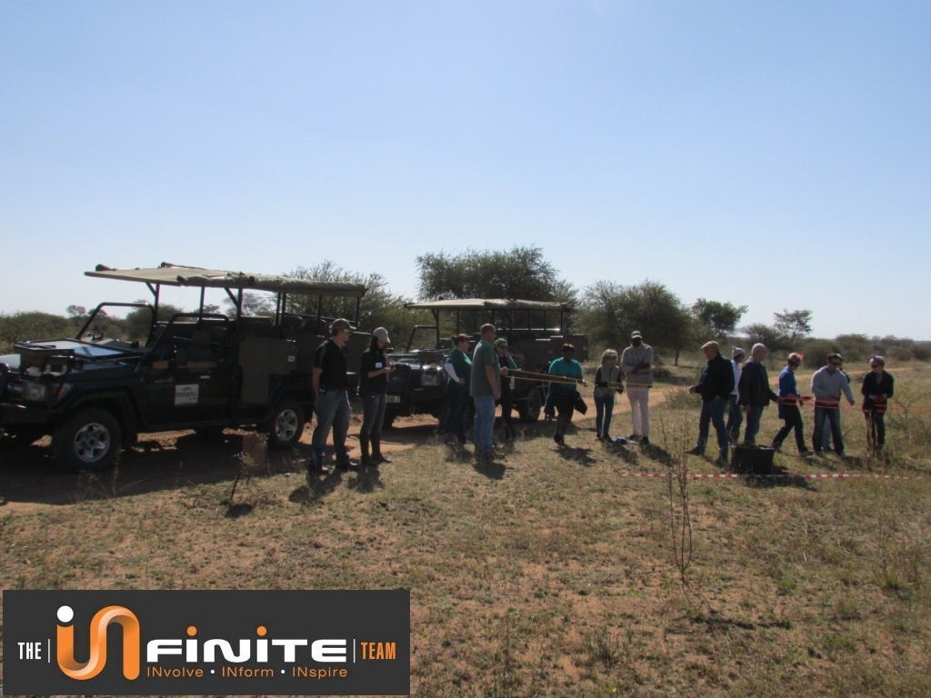 Team Building in Dinokeng near Pretoria 15