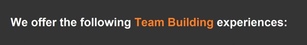 team-buildig-experiences-pretoria