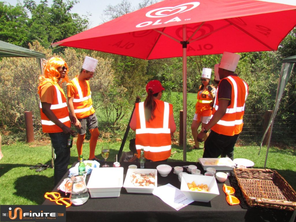 Potjiekos Team Building near Pretoria at The Blades