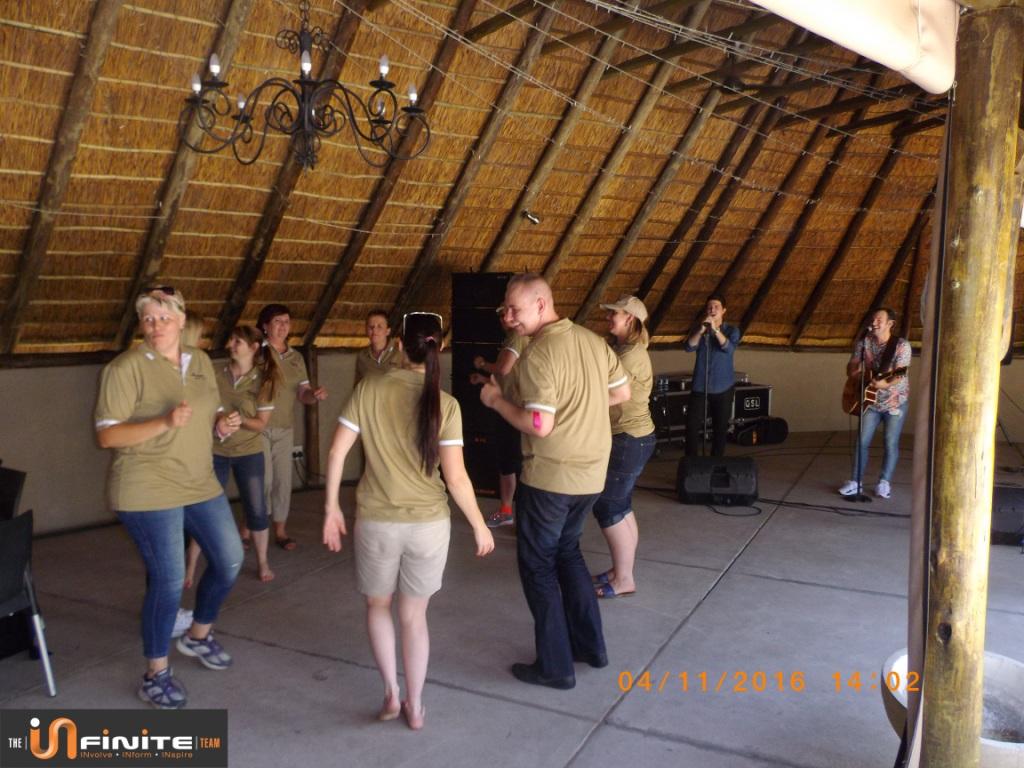 Team Building Dinokeng Game Reserve near Pretoria