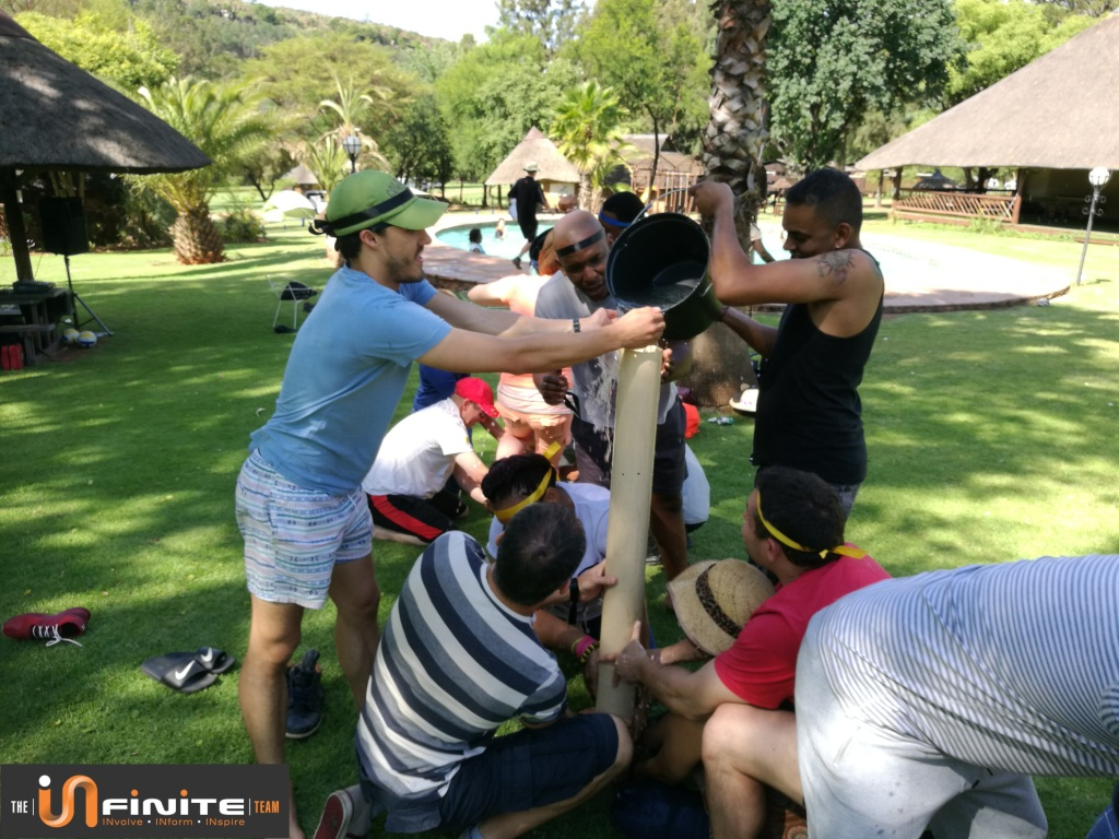 Fun Crazy Olympics at Olifants River Lodge for Clientele