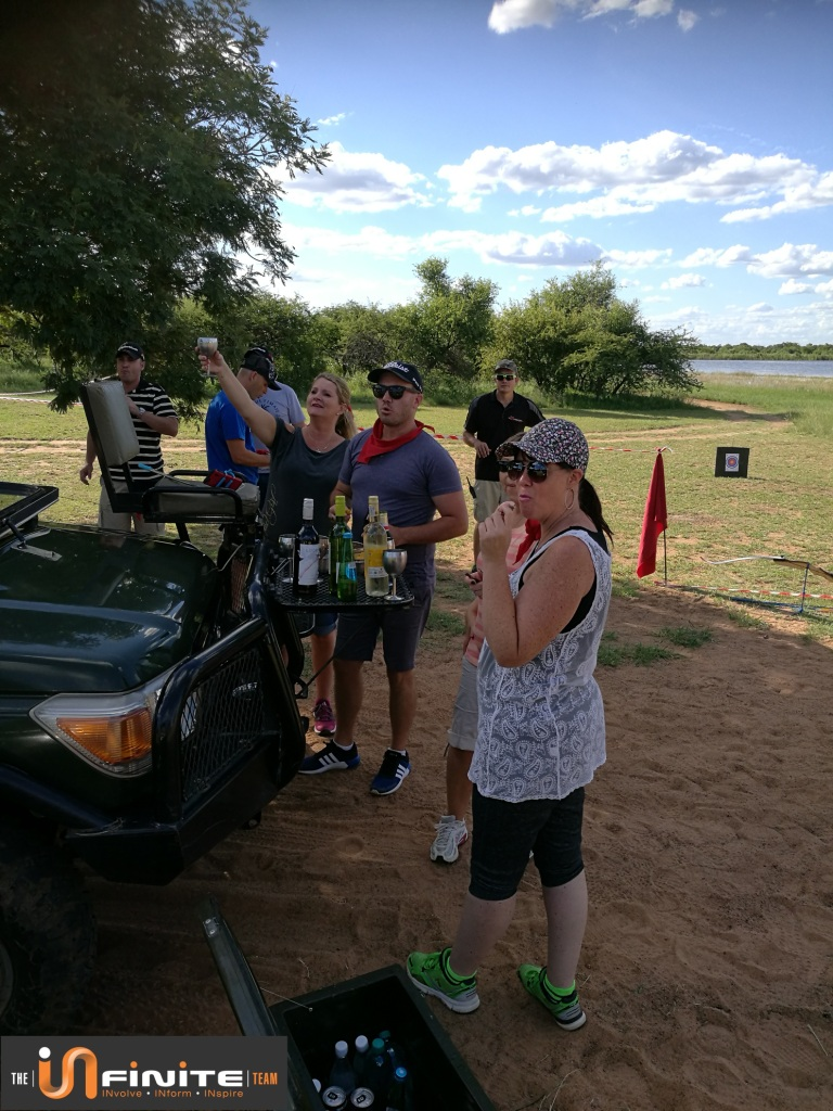 Team Building at Mongena Game Lodge in Dinokeng Game Reserve near Pretoria