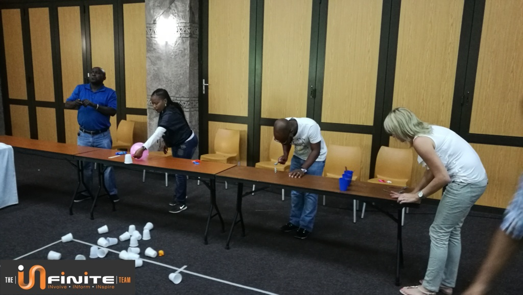 Minute to win it team building in Mpumalanga