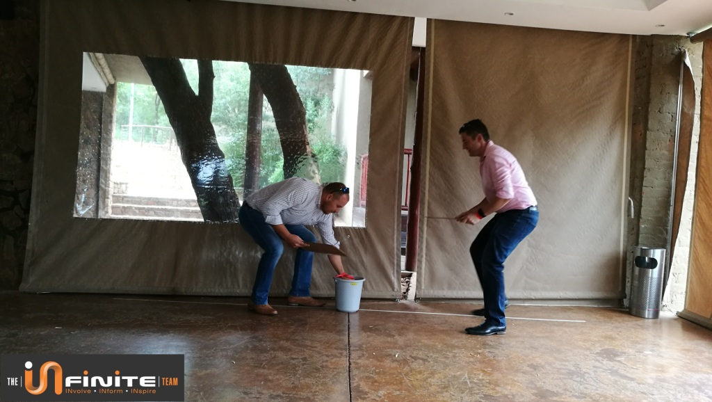 Minute to win it team building in Pretoria