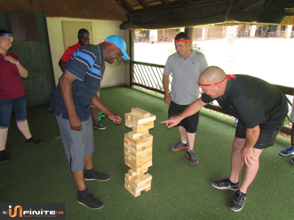 Amazing Infinite race Team Building at Olifants River Lodge in Mpumalanga