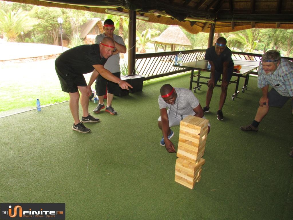 Amazing Infinite race Team Building at Olifants River Lodge in Mpumalanga