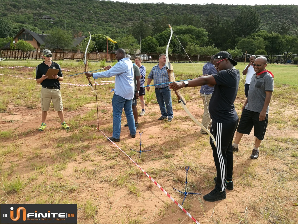 Fun Crazy Olympics Team Building at Olifants River Lodge in Mpumalanga