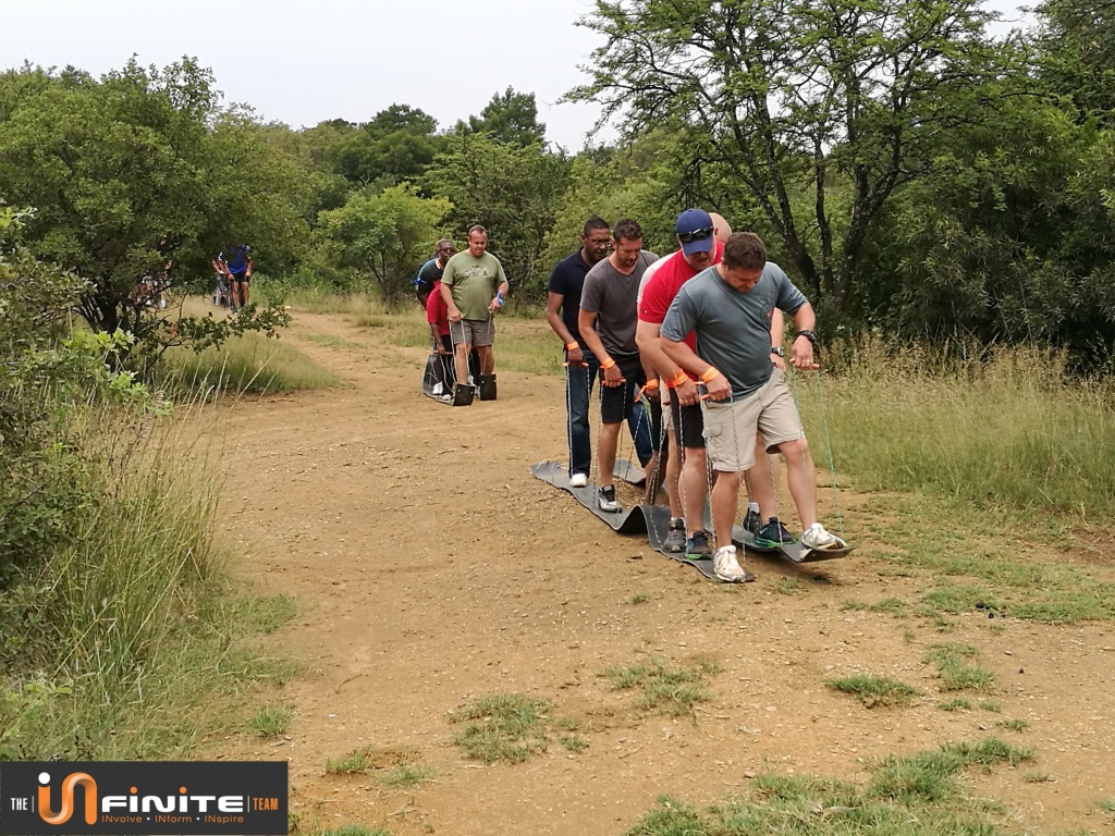 Experience real team building in Pretoria