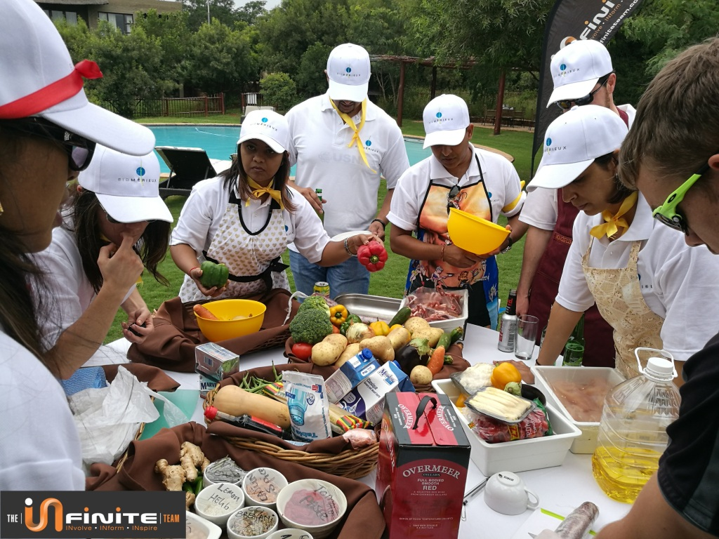 Top chef cook out Team Building in Pretoria
