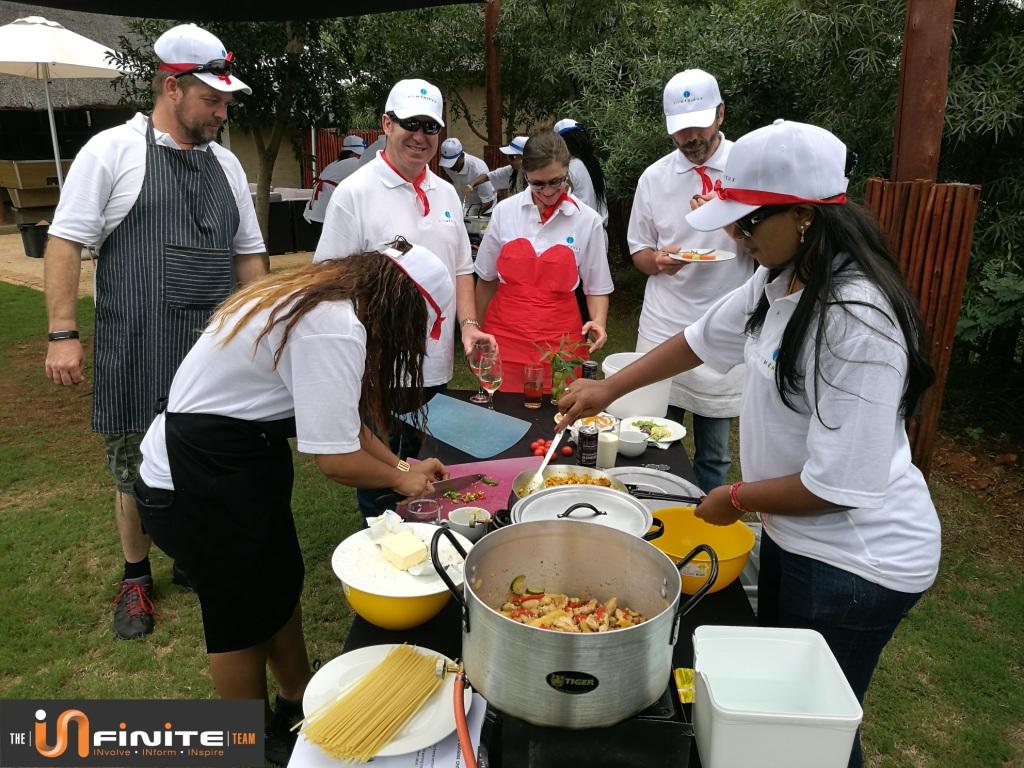 Top chef cook out Team Building in Pretoria