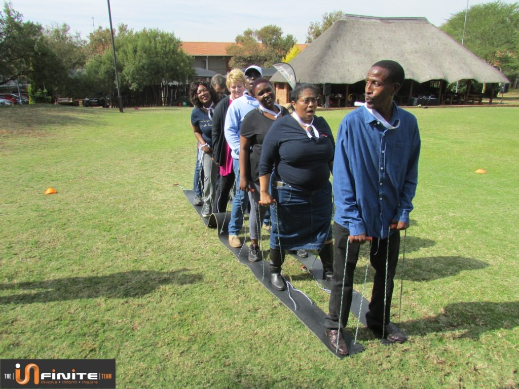 Team building City of Tshwane Pretoria