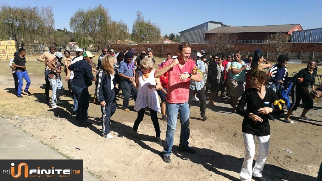 Line dance team building Pretoria