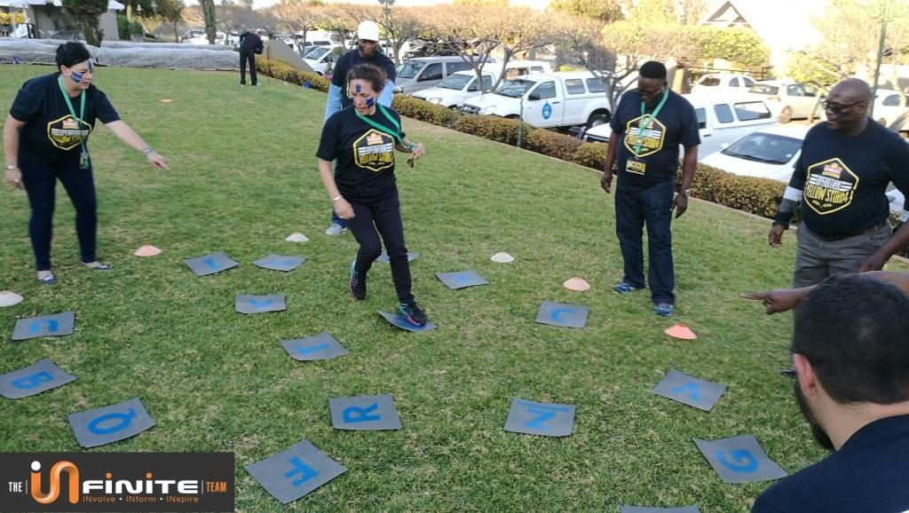 Team Building in Hartbeespoort close to Pretoria and Johannesburg