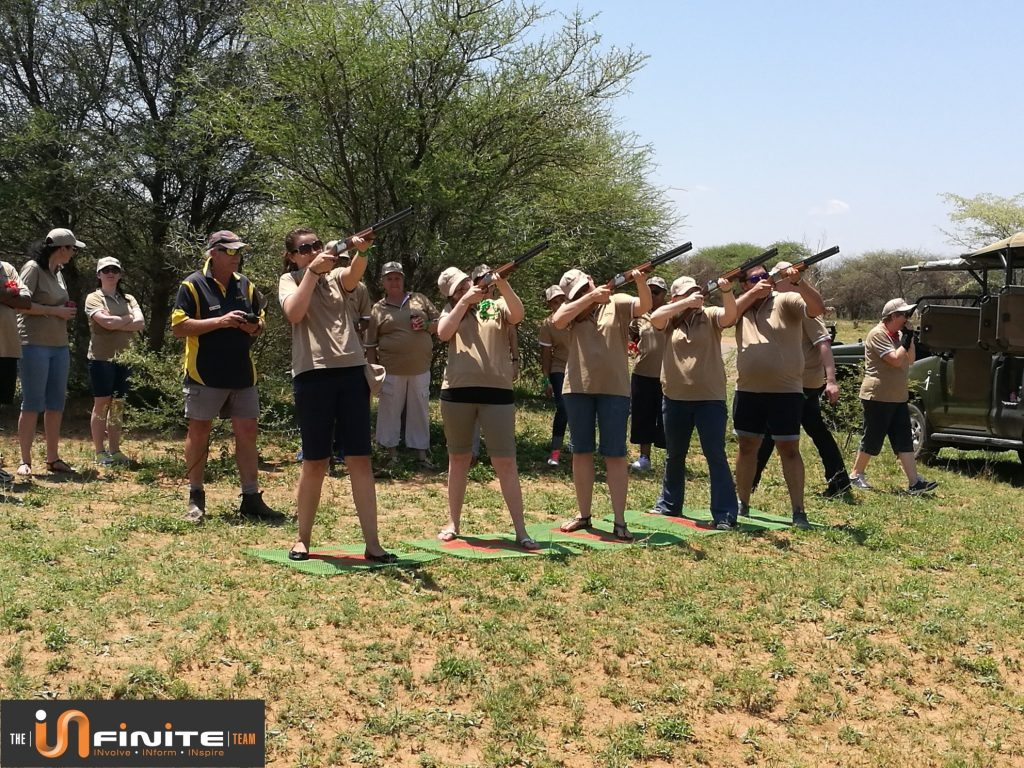 Laser Clay pigeon shooting Pretoria