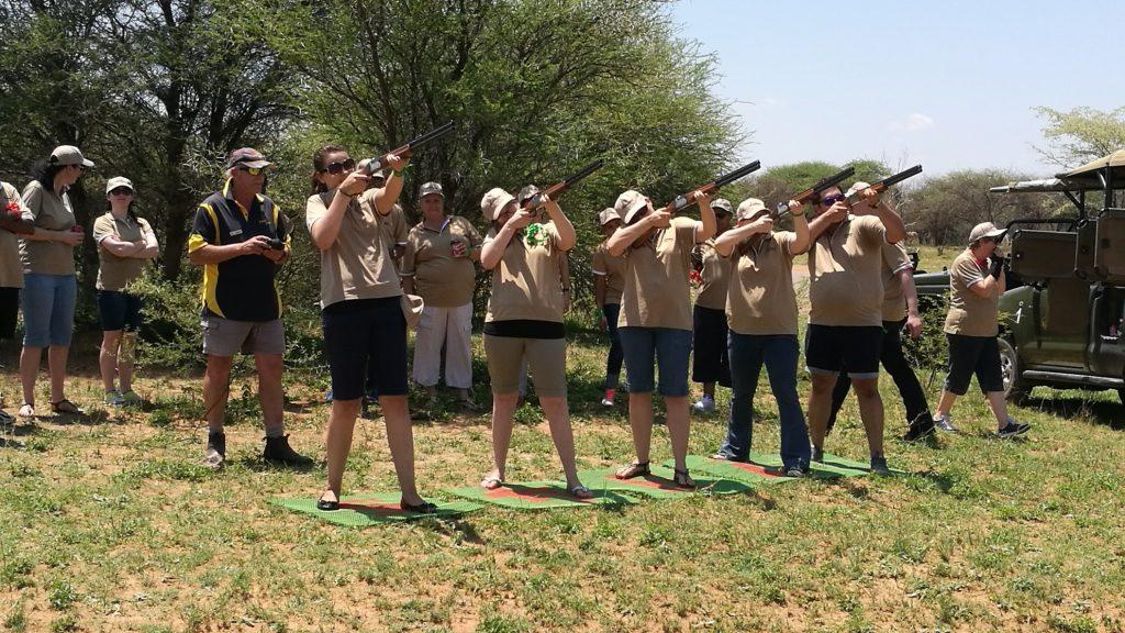 Laser Clay pigeon shooting Pretoria